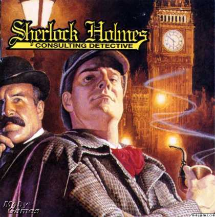DOS Games - Sherlock Holmes: Consulting Detective