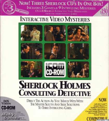 DOS Games - Sherlock Holmes Consulting Detective: Collection