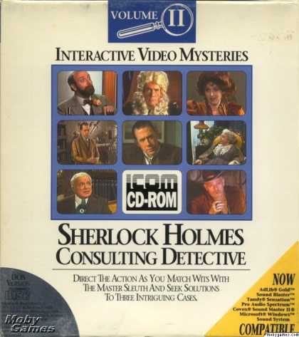 DOS Games - Sherlock Holmes Consulting Detective: Volume II