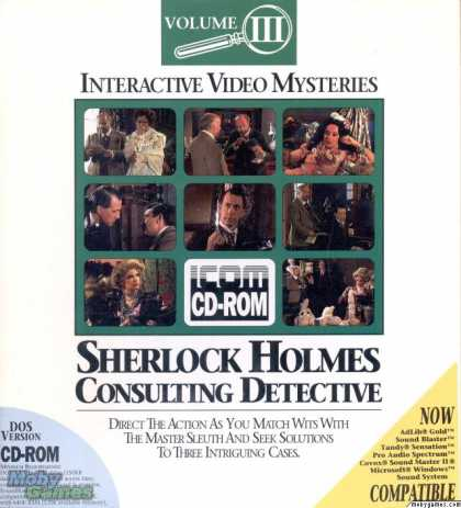 DOS Games - Sherlock Holmes Consulting Detective: Volume III