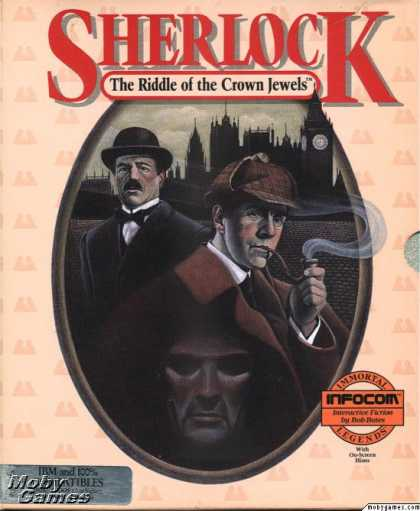 DOS Games - Sherlock: The Riddle of the Crown Jewels