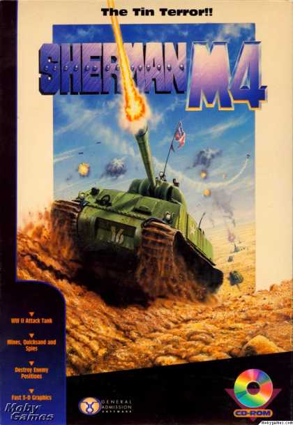 DOS Games - Sherman M4