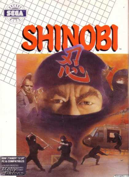 DOS Games - Shinobi