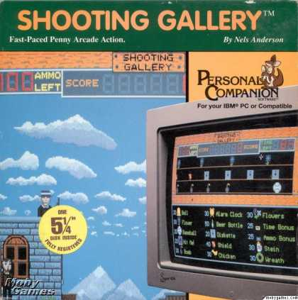 DOS Games - Shooting Gallery