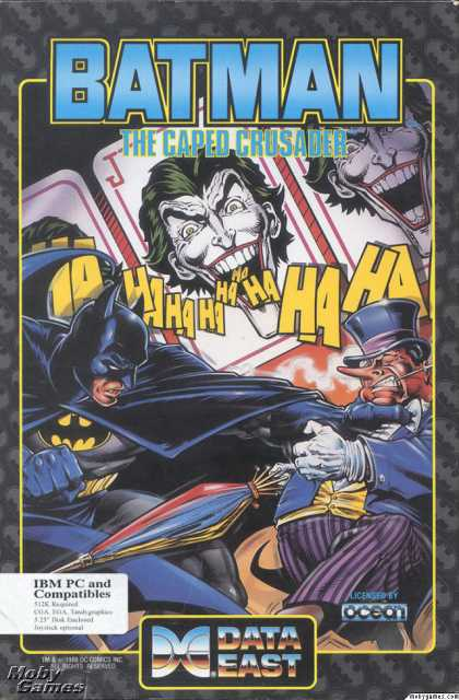 DOS Games - Batman: The Caped Crusader