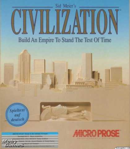 DOS Games - Sid Meier's Civilization