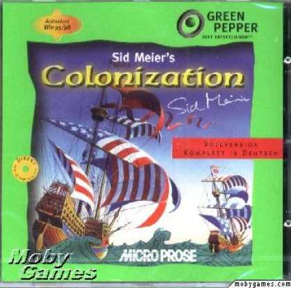 DOS Games - Sid Meier's Colonization