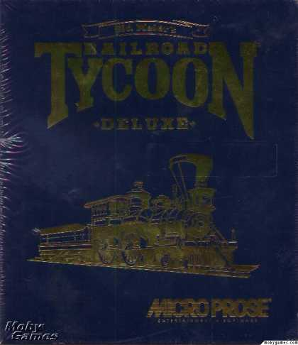 DOS Games - Sid Meier's Railroad Tycoon Deluxe