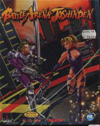 DOS Games - Battle Arena Toshinden