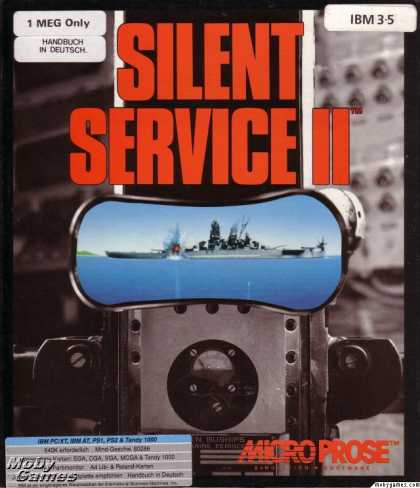 DOS Games - Silent Service II