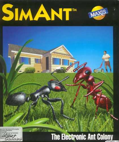 DOS Games - SimAnt: The Electronic Ant Colony