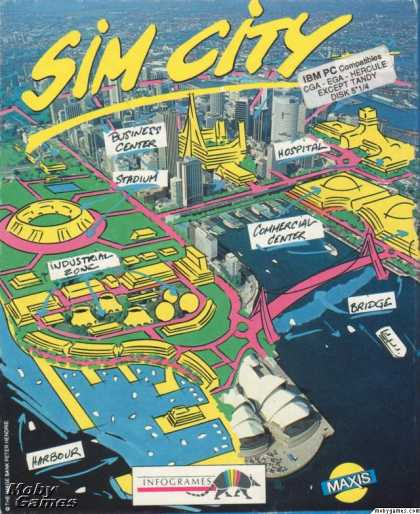 DOS Games - SimCity