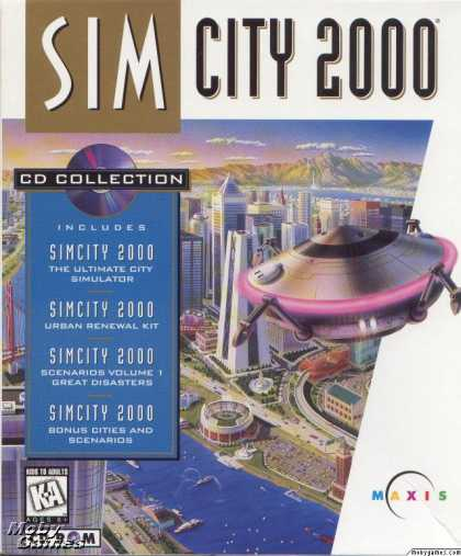 DOS Games - SimCity 2000: CD Collection