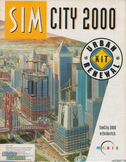 DOS Games - SimCity 2000 Urban Renewal Kit