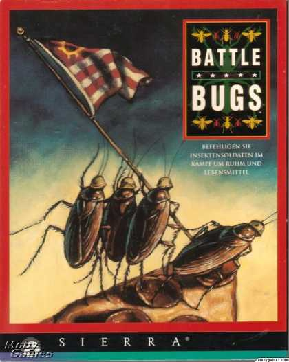 DOS Games - Battle Bugs