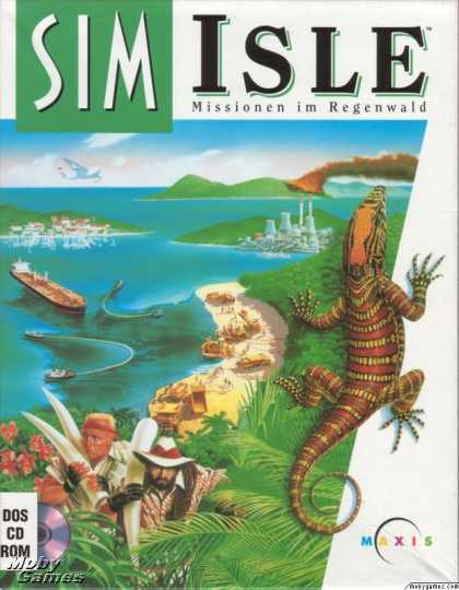 DOS Games - SimIsle: Missions in the Rainforest