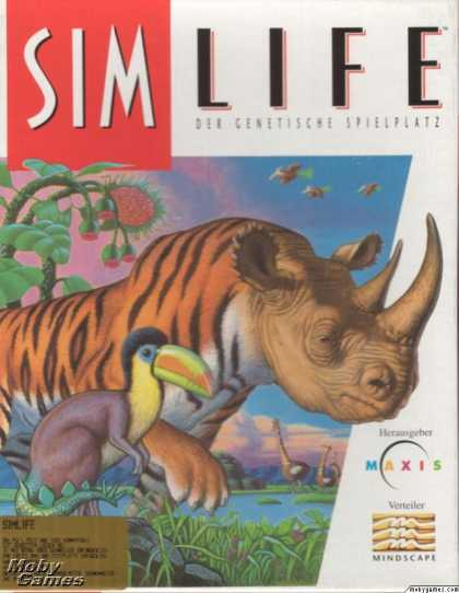 DOS Games - SimLife