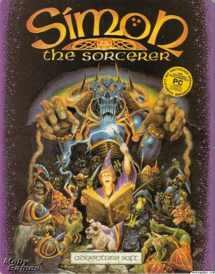 DOS Games - Simon the Sorcerer