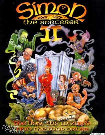 DOS Games - Simon the Sorcerer II: The Lion, the Wizard and the Wardrobe