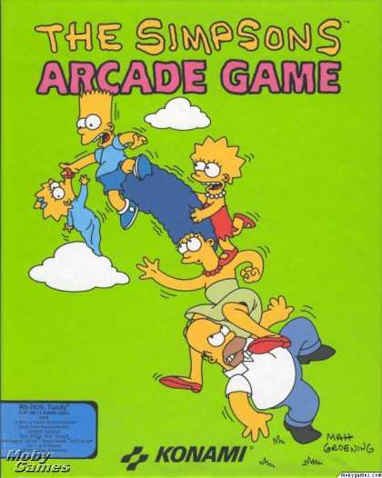 DOS Games - The Simpsons Arcade Game