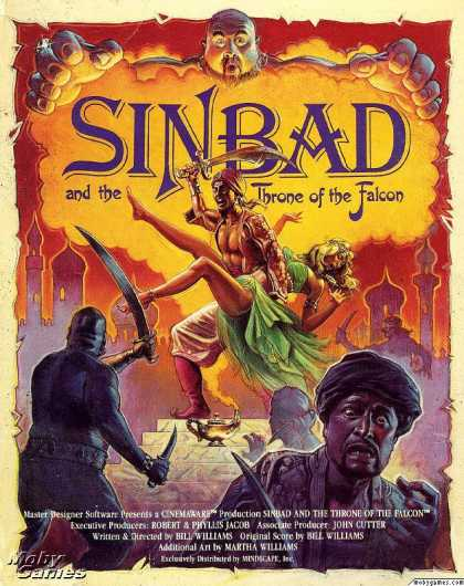 DOS Games - Sinbad and the Throne of the Falcon