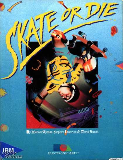 DOS Games - Skate or Die