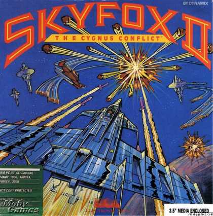 DOS Games - Skyfox II: The Cygnus Conflict
