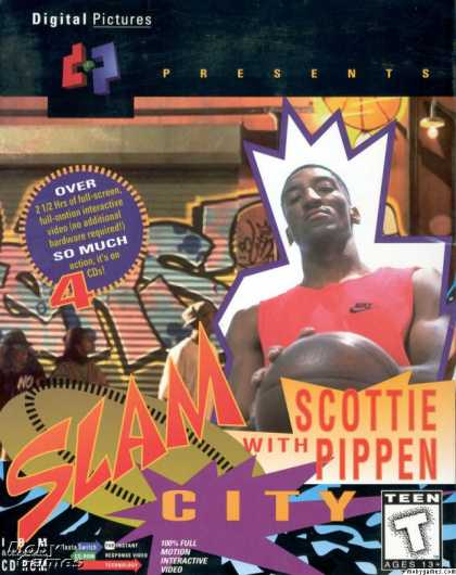 DOS Games - Slam City with Scottie Pippen