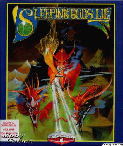 DOS Games - Sleeping Gods Lie