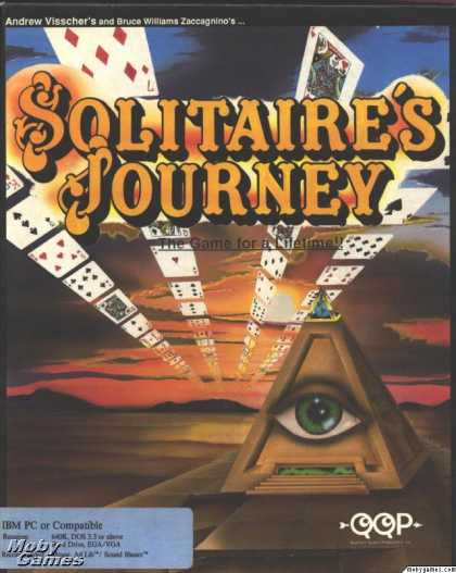 DOS Games - Solitaire's Journey