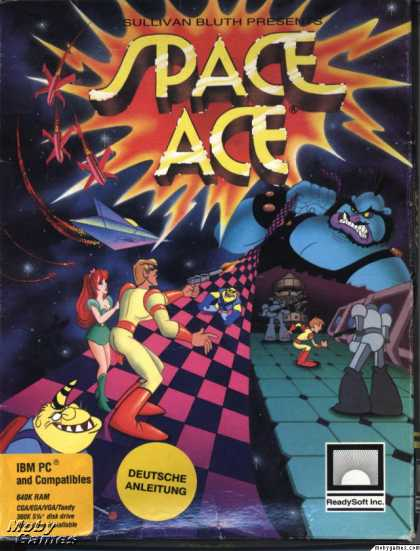 DOS Games - Space Ace