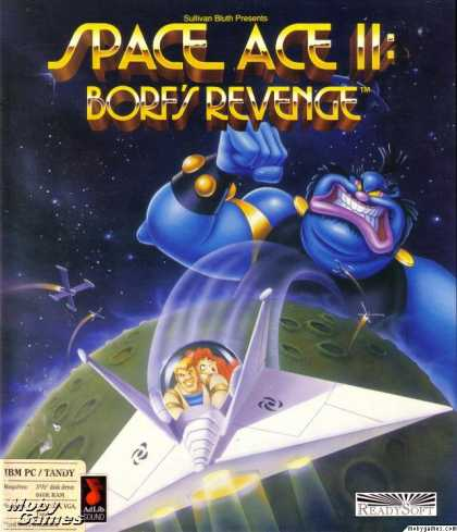 DOS Games - Space Ace II: Borf's Revenge