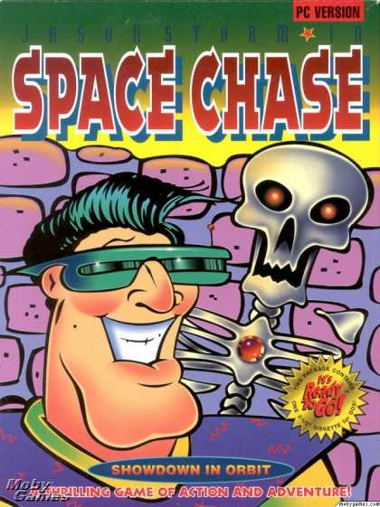 DOS Games - Space Chase III: Showdown In Orbit