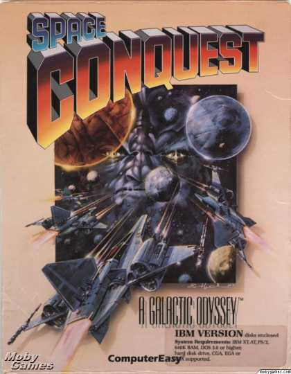 DOS Games - Space Conquest: A Galactic Odyssey