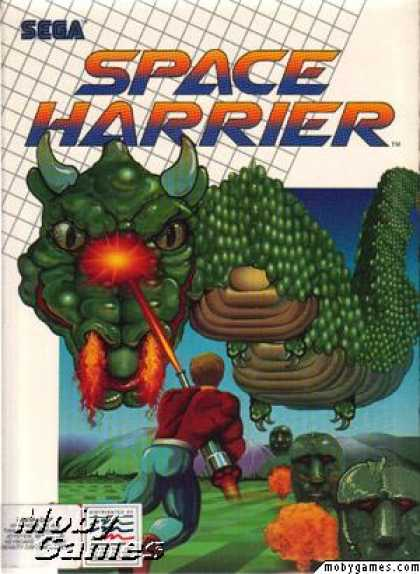 DOS Games - Space Harrier