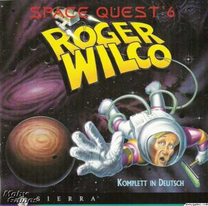 DOS Games - Space Quest 6: Roger Wilco in the Spinal Frontier