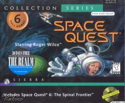 DOS Games - Space Quest: Collection Series