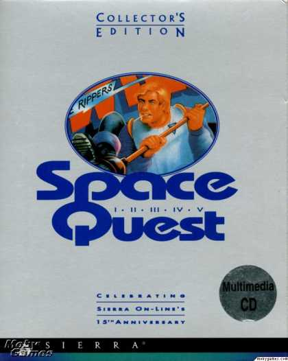 DOS Games - Space Quest (Collector's Edition)