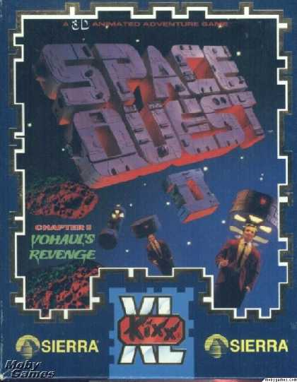 DOS Games - Space Quest II: Chapter II - Vohaul's Revenge