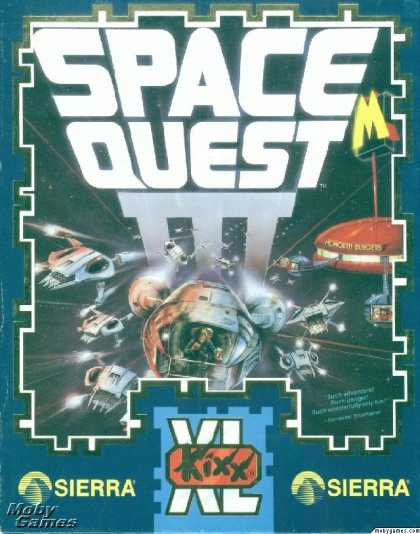 DOS Games - Space Quest III: The Pirates of Pestulon