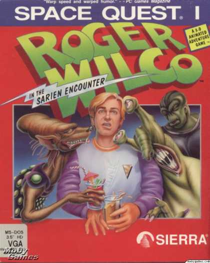 DOS Games - Space Quest I: Roger Wilco in the Sarien Encounter