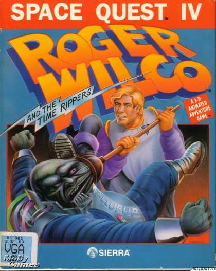 DOS Games - Space Quest IV: Roger Wilco and the Time Rippers