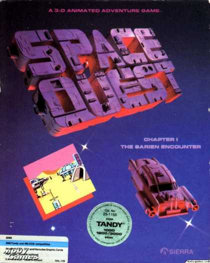 DOS Games - Space Quest: The Sarien Encounter