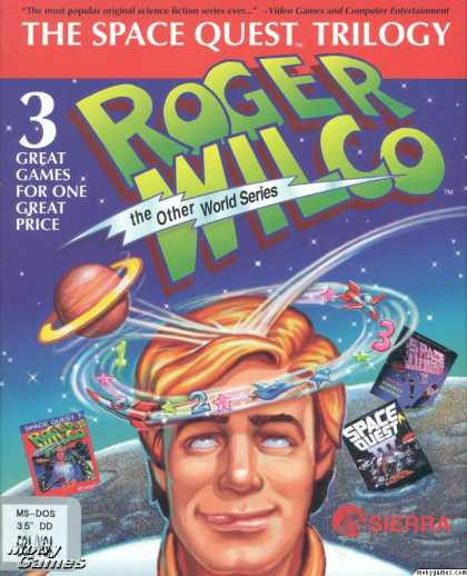 DOS Games - The Space Quest Trilogy: Roger Wilco the Other World Series