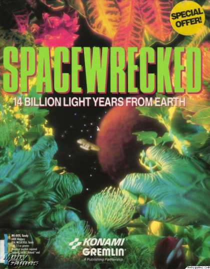 DOS Games - Spacewrecked: 14 Billion Light Years From Earth