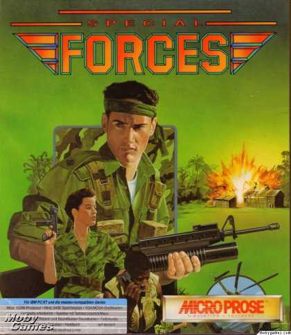 DOS Games - Special Forces