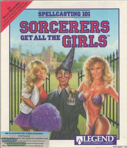 DOS Games - Spellcasting 101: Sorcerers get all the Girls