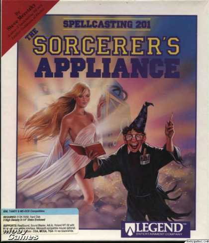 DOS Games - Spellcasting 201: The Sorcerer's Appliance