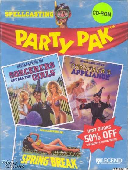 DOS Games - Spellcasting Party Pak