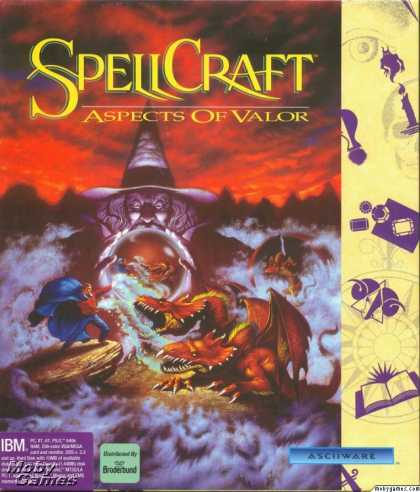 DOS Games - SpellCraft: Aspects of Valor